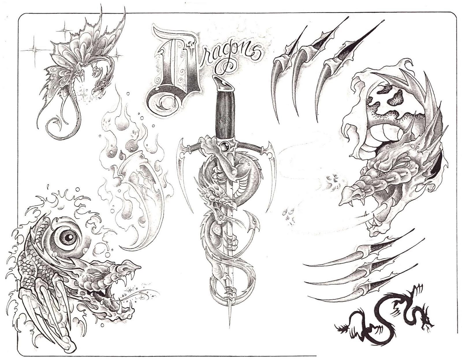 эскизы татуировок татуировки