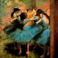 'Ballarines de blau (Edgar Degas)'