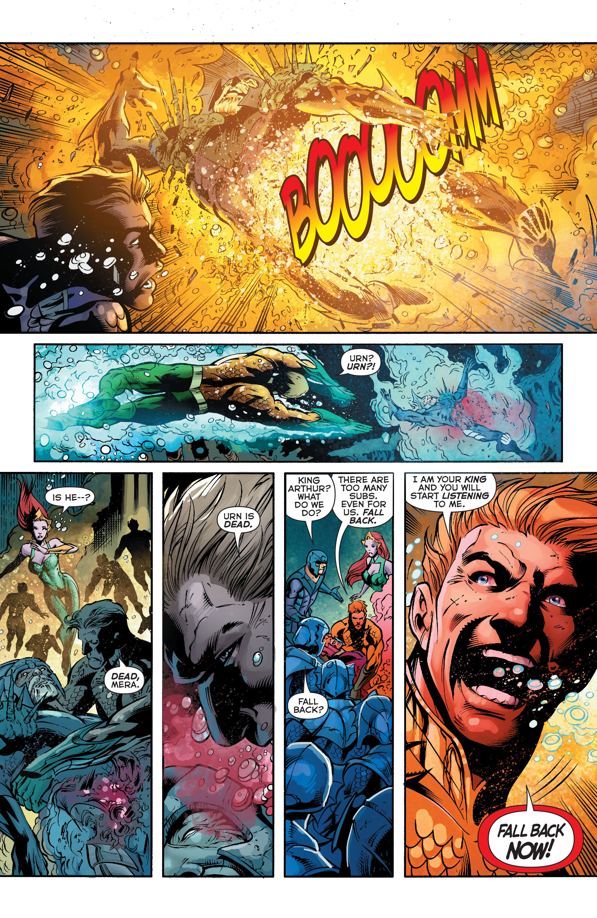 Read online Aquaman (2011) comic -  Issue #23 - 12