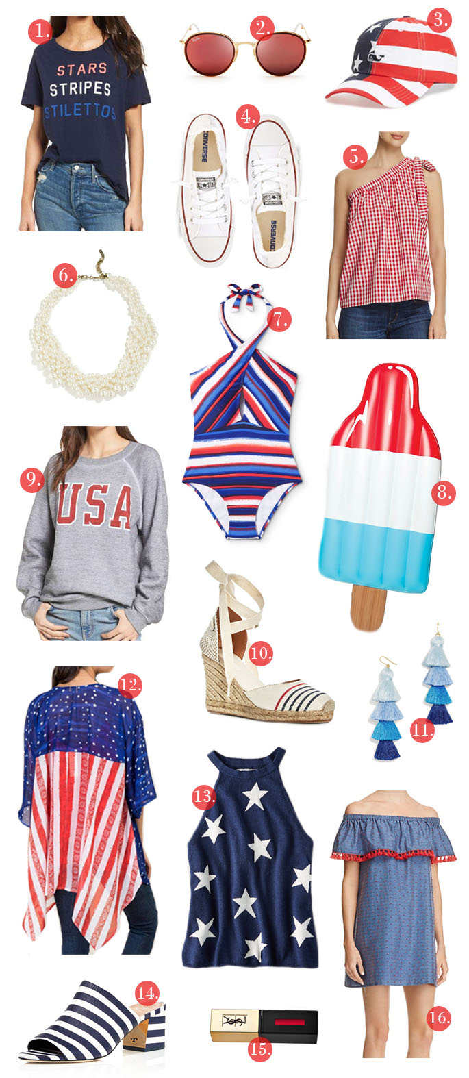 Daily Dose Of Design 4th Of July Outfit Ideas