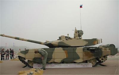 T-90MS Main Battle Tank Russia