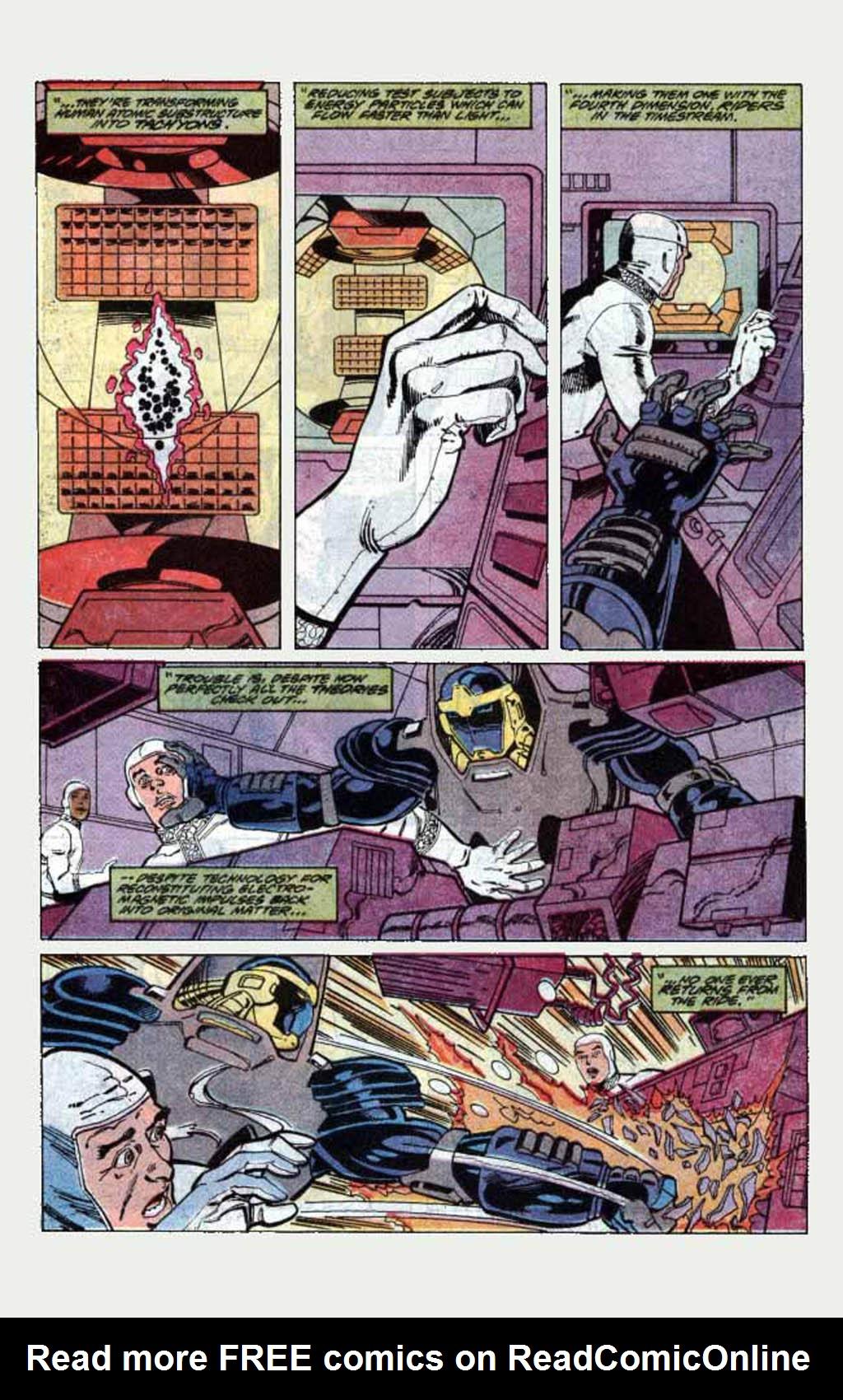 Read online Armageddon 2001 comic -  Issue #1 - 37