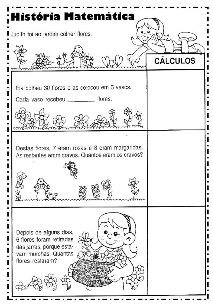 Super ATIVIDADES VARIADAS DE MATEMÁTICA - 2º ANO ~ Alfabetizar com AMOR QS45