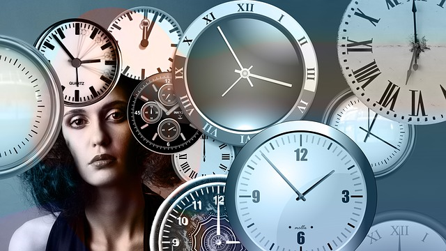 Watches, Clocks, Woman Pondering Time