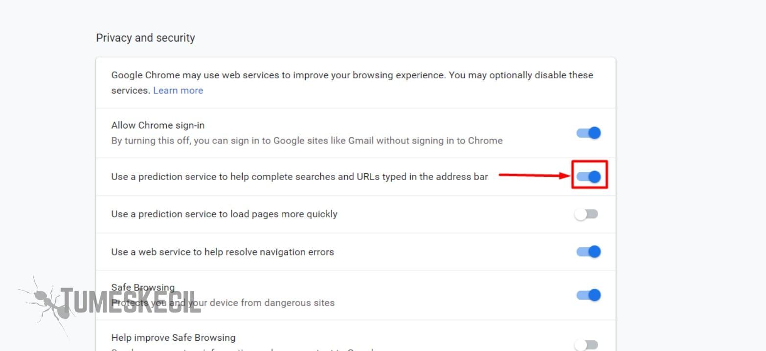 cara mempercepat saat membuka google chrome