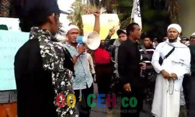Buntut Penolakan Gubernur Kalbar, 20 Pemuda Aceh Ditangkap