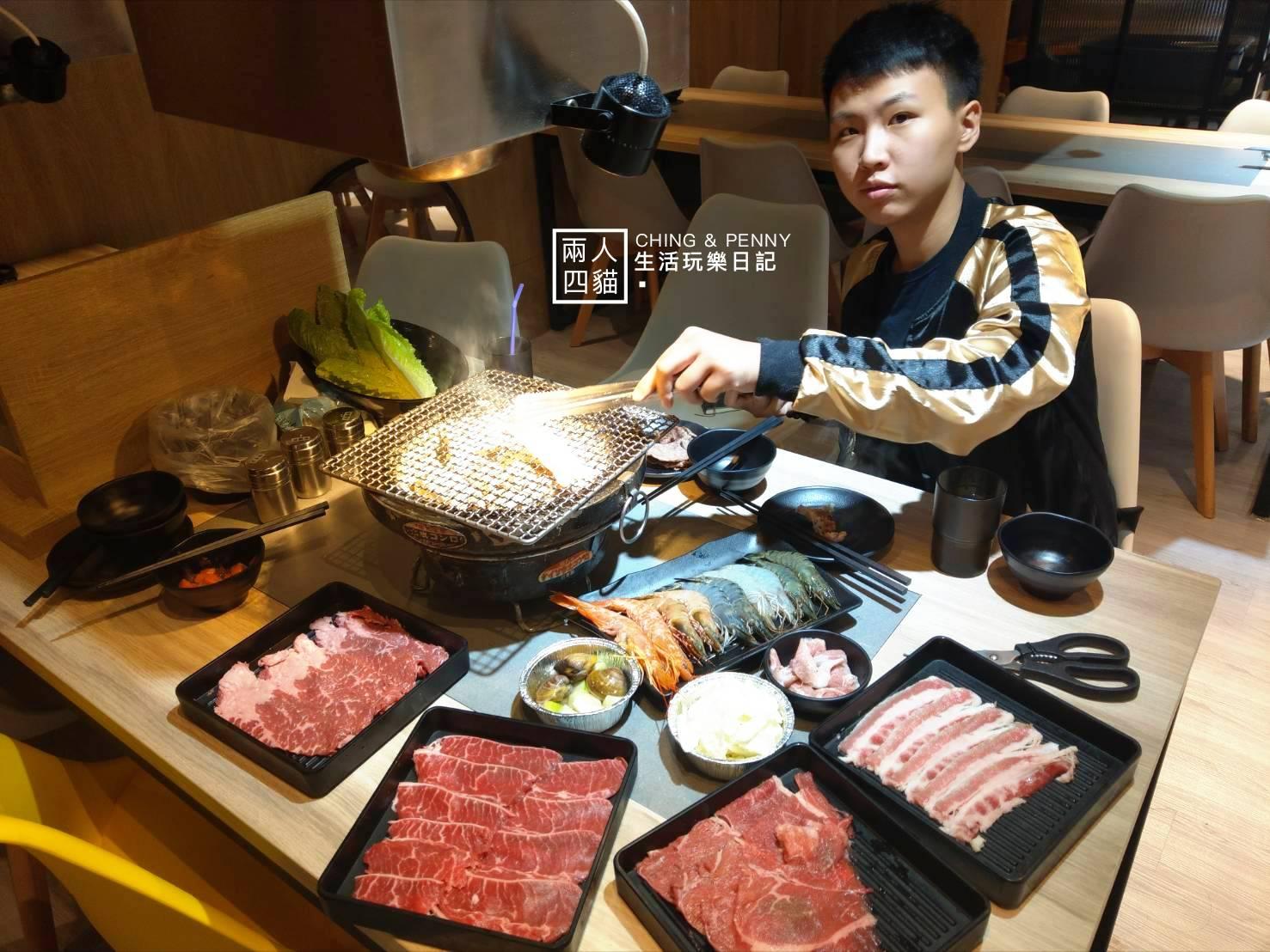 【蘆洲|美食】599有安格斯黑牛吃到飽!蘆洲新開幕清新燒烤店『牙打燒肉Yakiniku』 65品項超豐富 5/2正式開幕