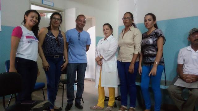 Em  Olho D'Água do Casado, médicas cubanas são apresentadas pela secretaria municipal de saúde