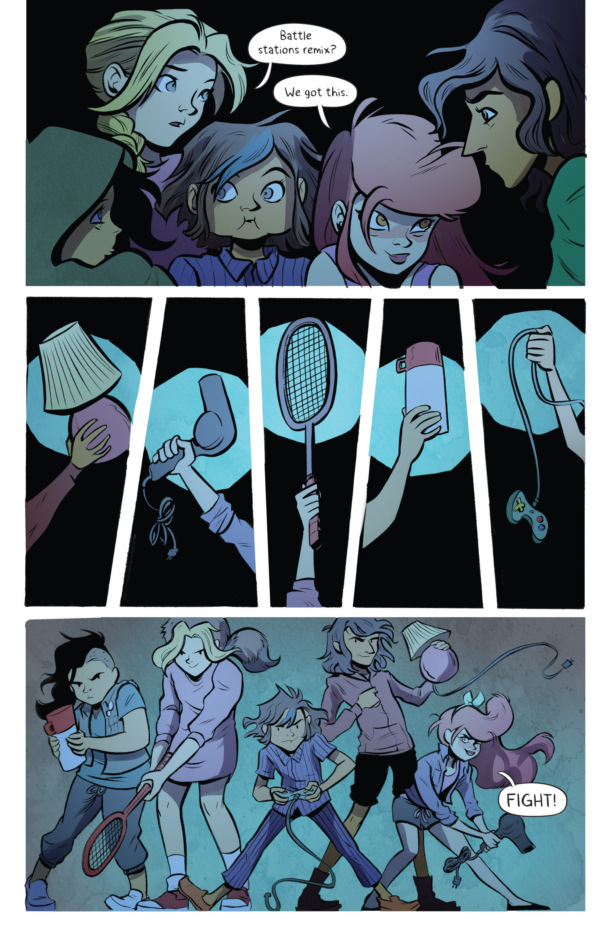 Read online Lumberjanes: Makin' the Ghost of It 2016 Special comic -  Issue # Full - 18