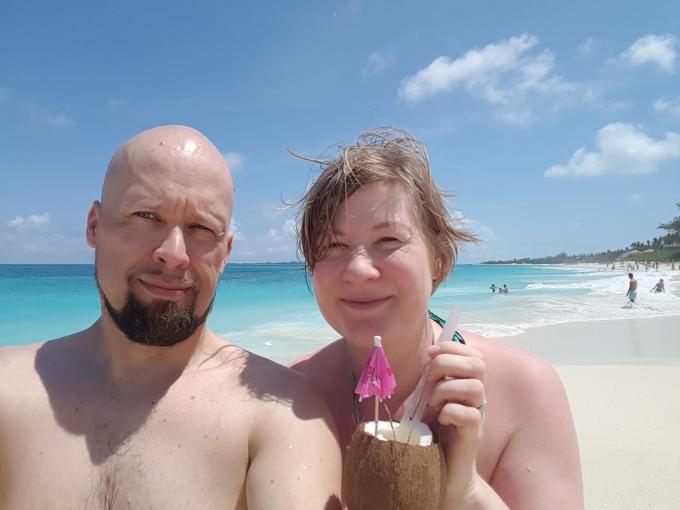 Bahamalla, Karibian risteily ja Paradise Beach