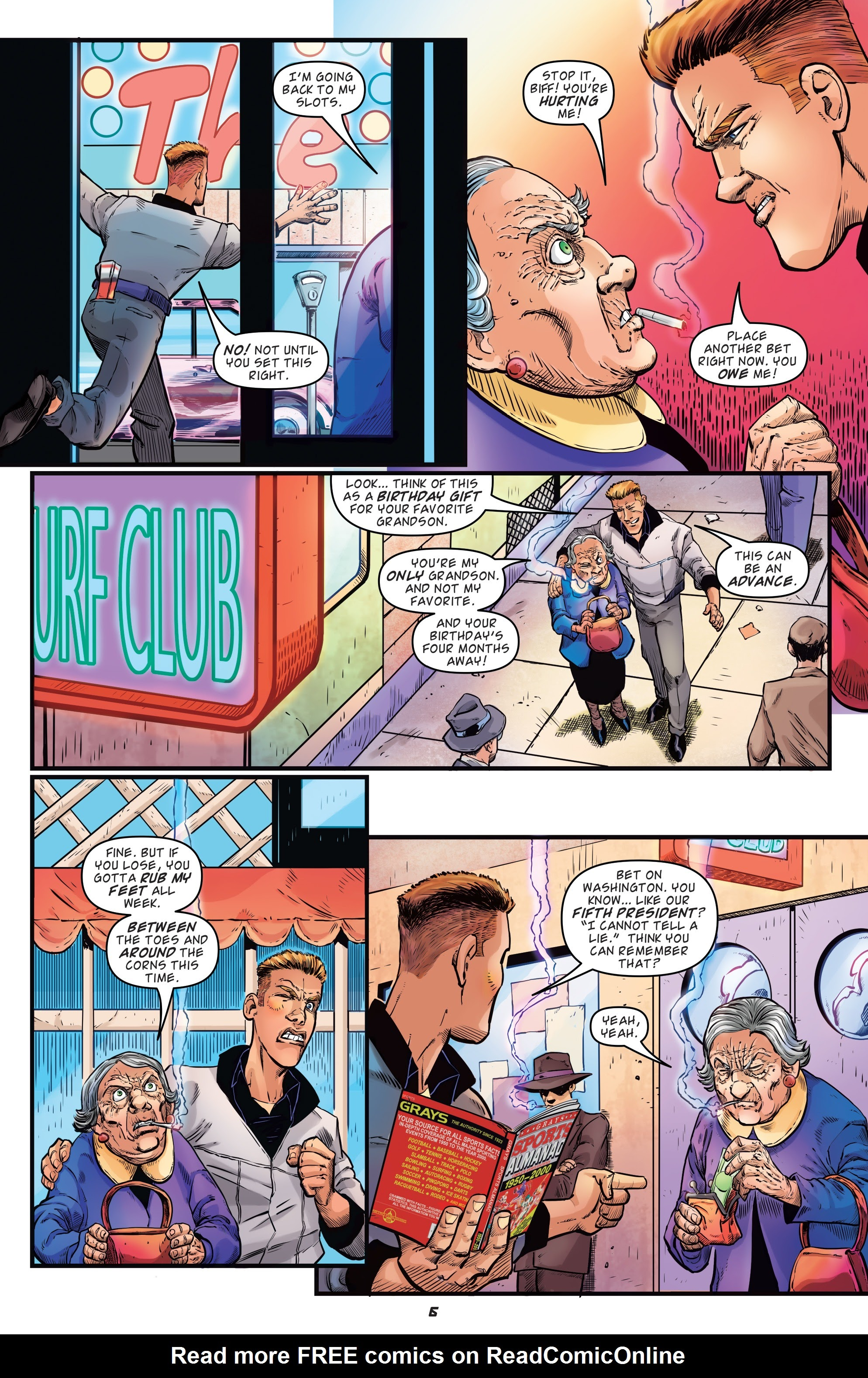 Read online Back to the Future: Biff to the Future comic -  Issue #1 - 8