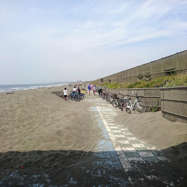 湘南海岸・砂浜のみち