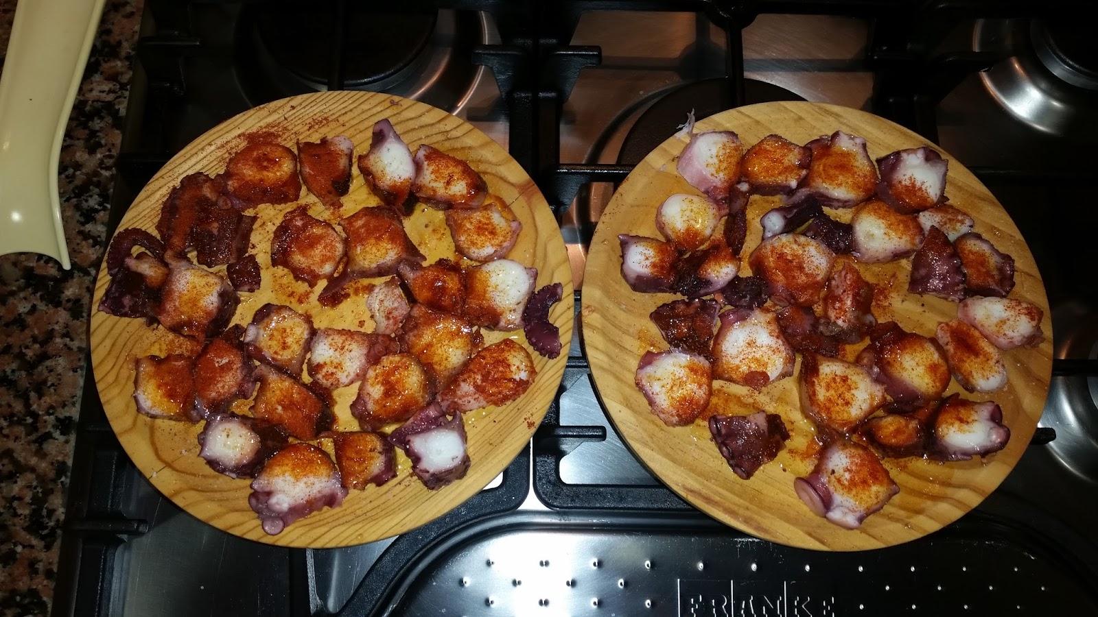 La cocina de hoy y de siempre pulpo a la gallega Como se cocina el pulpo