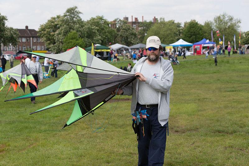 Flying Fish Kiting Team: Streatham Common Kite Day