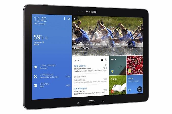 Samsung TabPRO 8.4, TabPRO 10.1 and TabPRO 12.2 announced