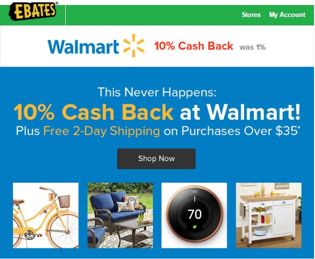 walmart sales, walmart savings catcher, walmart rollback, walmart daily deal, cash back online, free cash back, cash back on purchases, save money live better