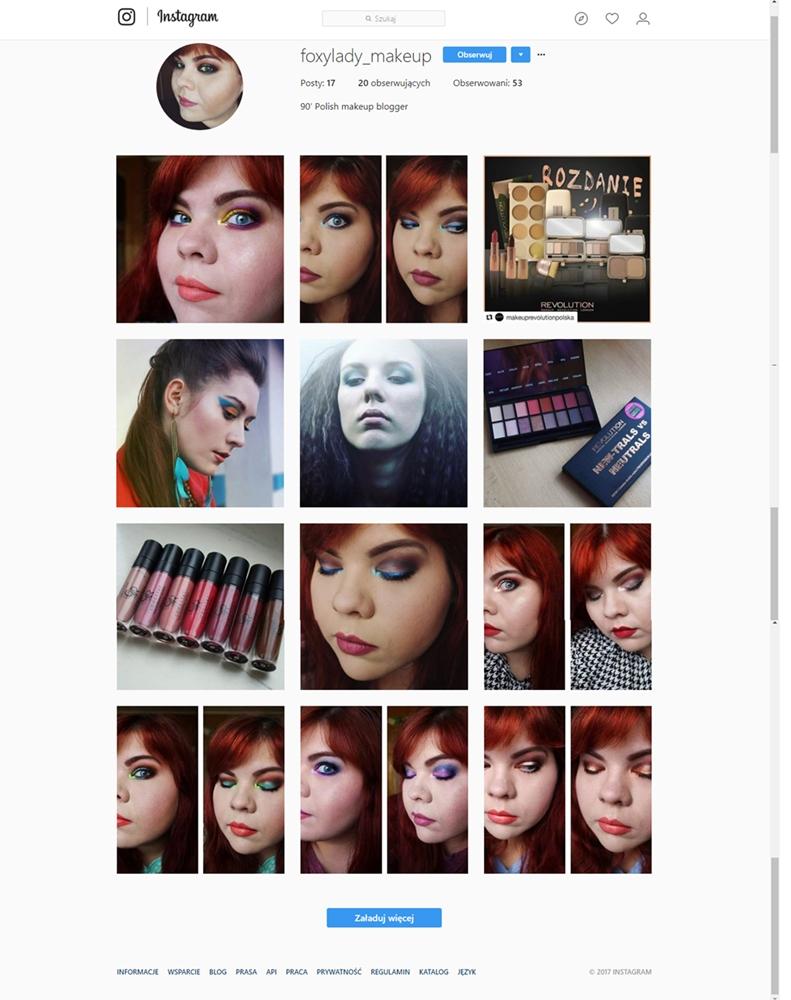 Makijażowy Instagram!