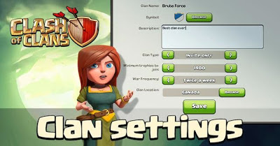 Tips Agar Clan Clans of Clans Ramai dan Banyak Member