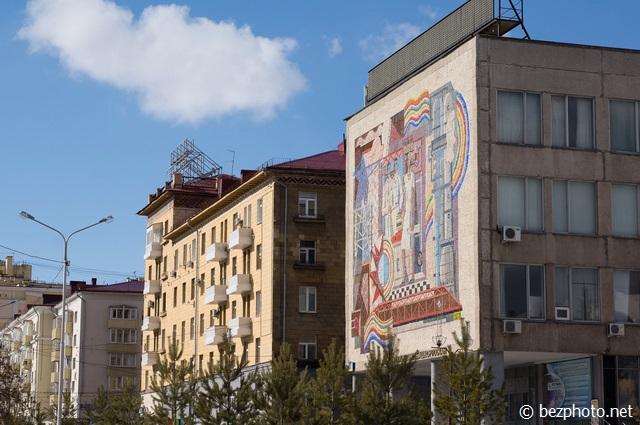 советский мозаика