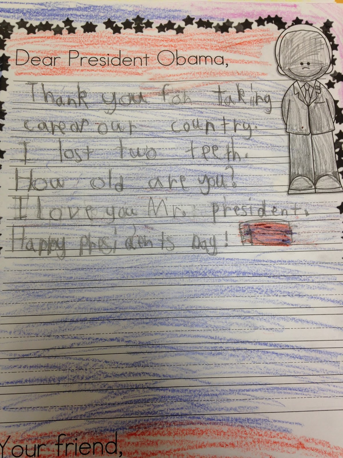 1st Grade Pandamania Freebie Sample Of My Presidents Day