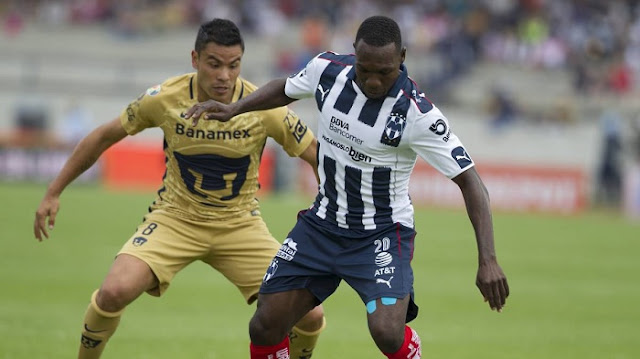 Pumas vs Monterrey en vivo