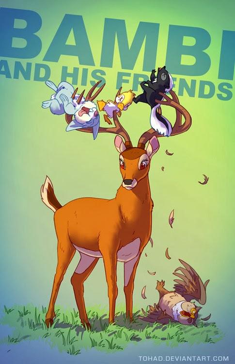 bambi BADASS Tohad