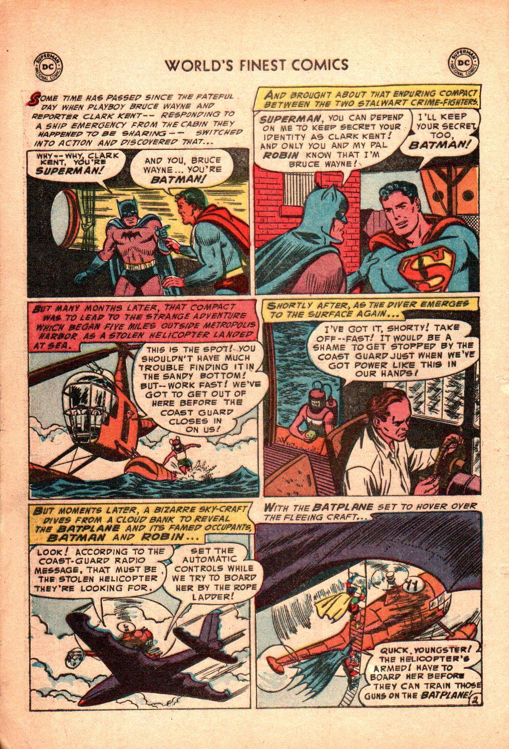 Read online World's Finest Comics comic -  Issue #71 - 6
