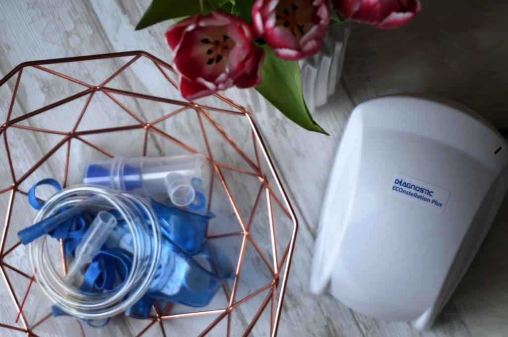 W trosce o zdrowie całej rodziny - inhalator tłokowy Diagnostic Econstellation Plus