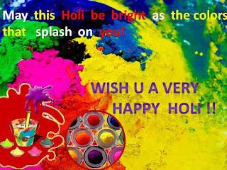 Happy Holi Wishes Status 2016