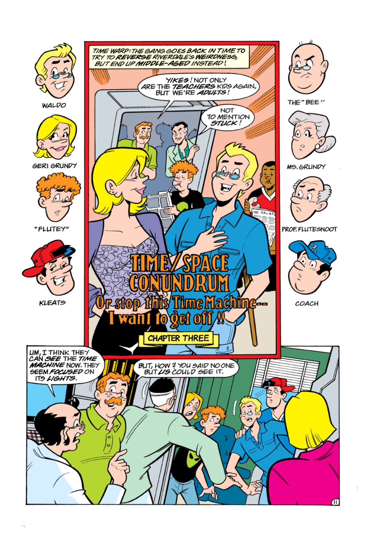 Read online Archie's Weird Mysteries comic -  Issue #5 - 13
