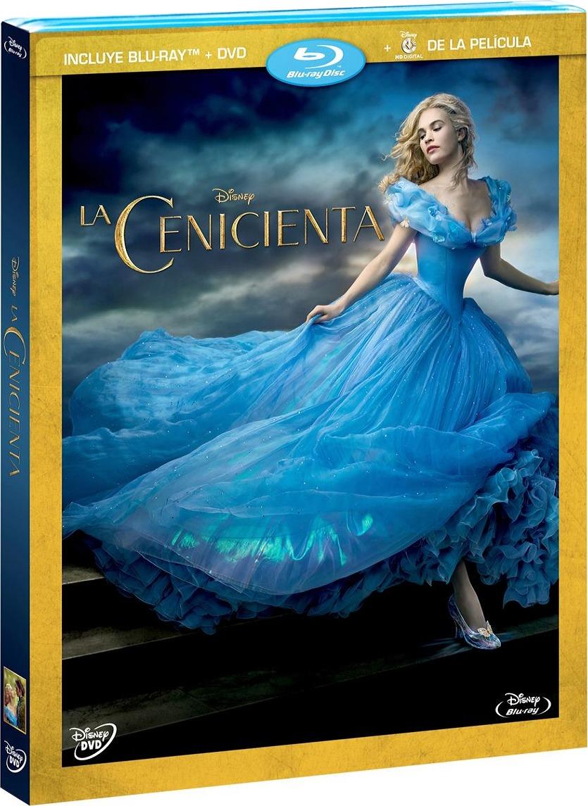 Cenicienta (2015) 1080p BD25 Cover Caratula Blu-ray