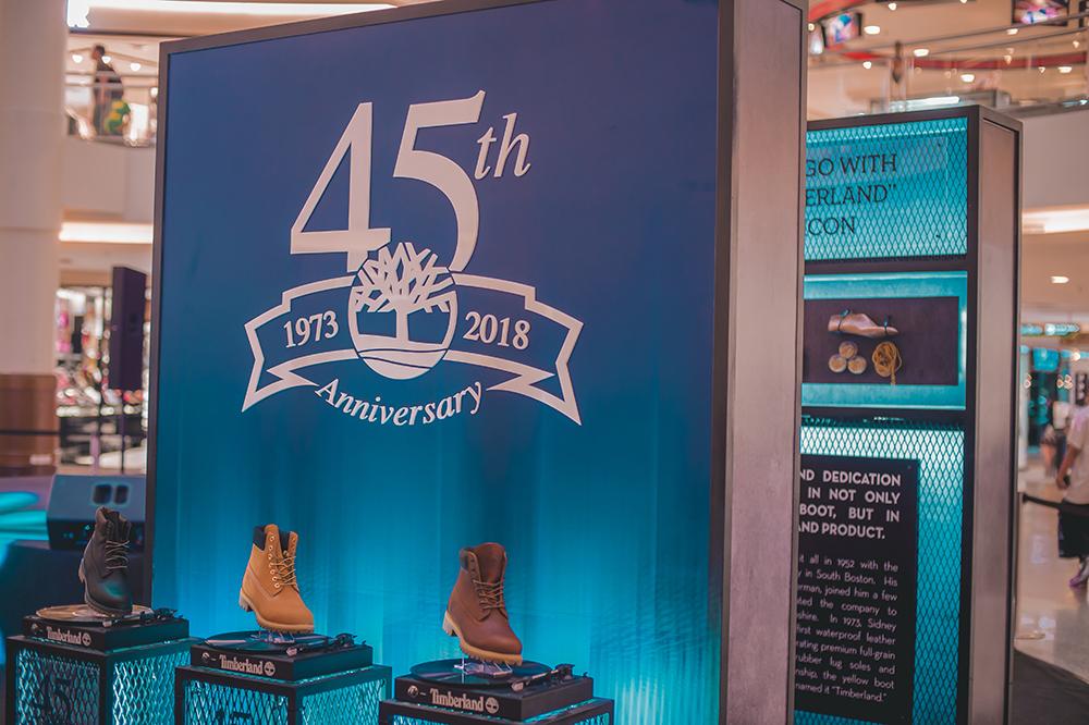 Pen My Blog: Timberland's 45th Anniversary