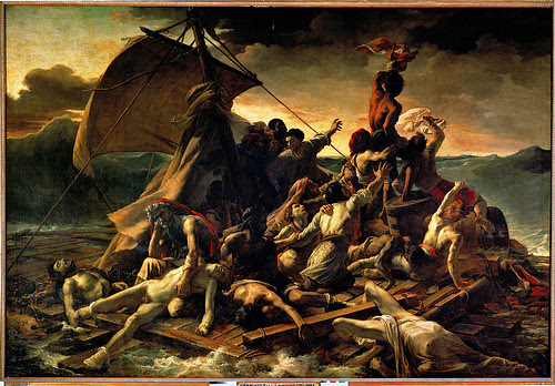 Gericault's Raft of the Medusa and Turner's Slave Ship