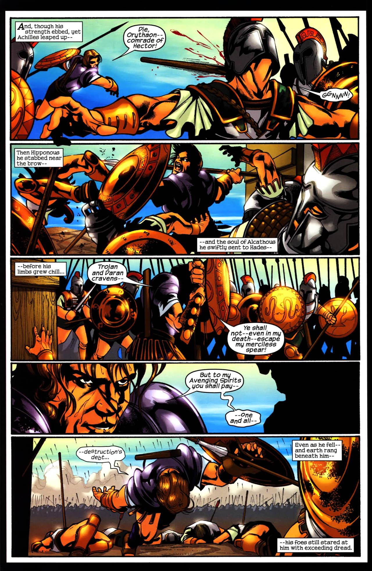 Read online Trojan War comic -  Issue #3 - 22
