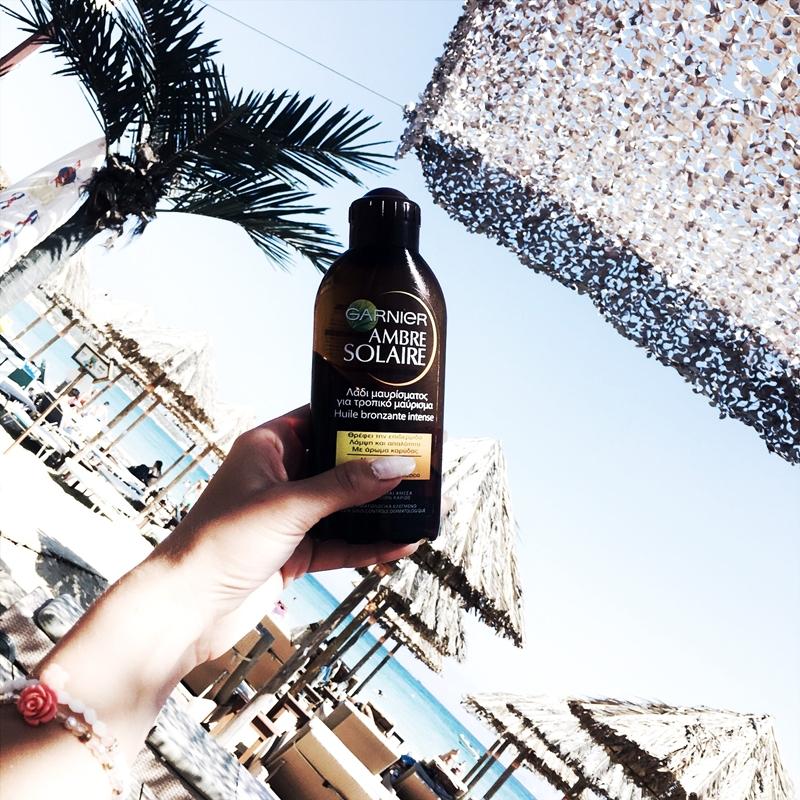 Garnier Ambre solaire bronzing oil.Best tanning oils.Najbolja ulja za suncanje.