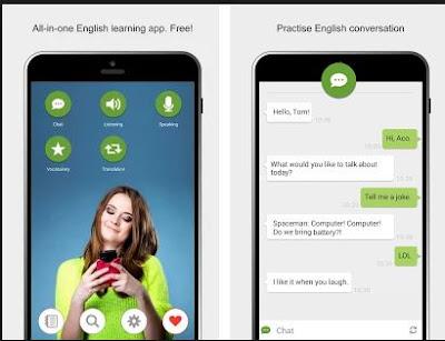 aplikasi belajar bahasa inggris Learn English with Aco