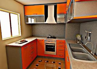 Dekorasi Dapur Basah