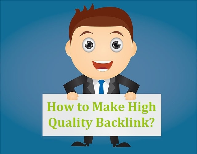 How to make High Quality Backlink  Best 8 effective ways