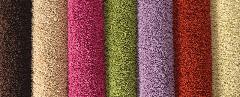 Carpets come in a wide variety of colors from brights to neutrals
