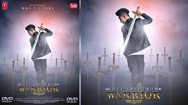 Warrior Boy Action  Movie Poster Picsart Tutorial