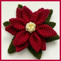 Ponsettia crochet