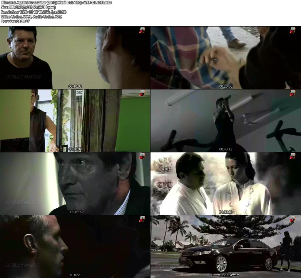 Agent Provocateur 2012 Hindi Dub 720p WEB-DL | 480p 300MB | 100MB HEVC Screenshot