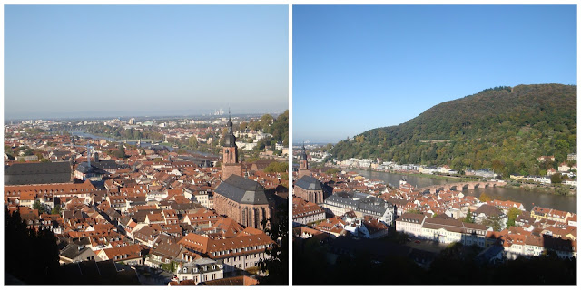 Heidelberg vista do castelo