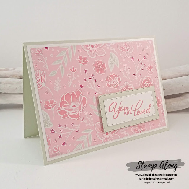 Stampin' Up! All my love DSP