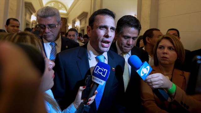 The Wall Street Journal vincula a Capriles con el caso Odebrecht