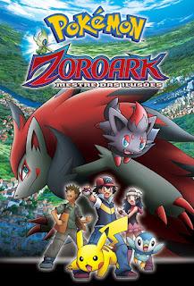 Pokémon: Zoroark - Mestre das Ilusões - BDRip Dual Áudio