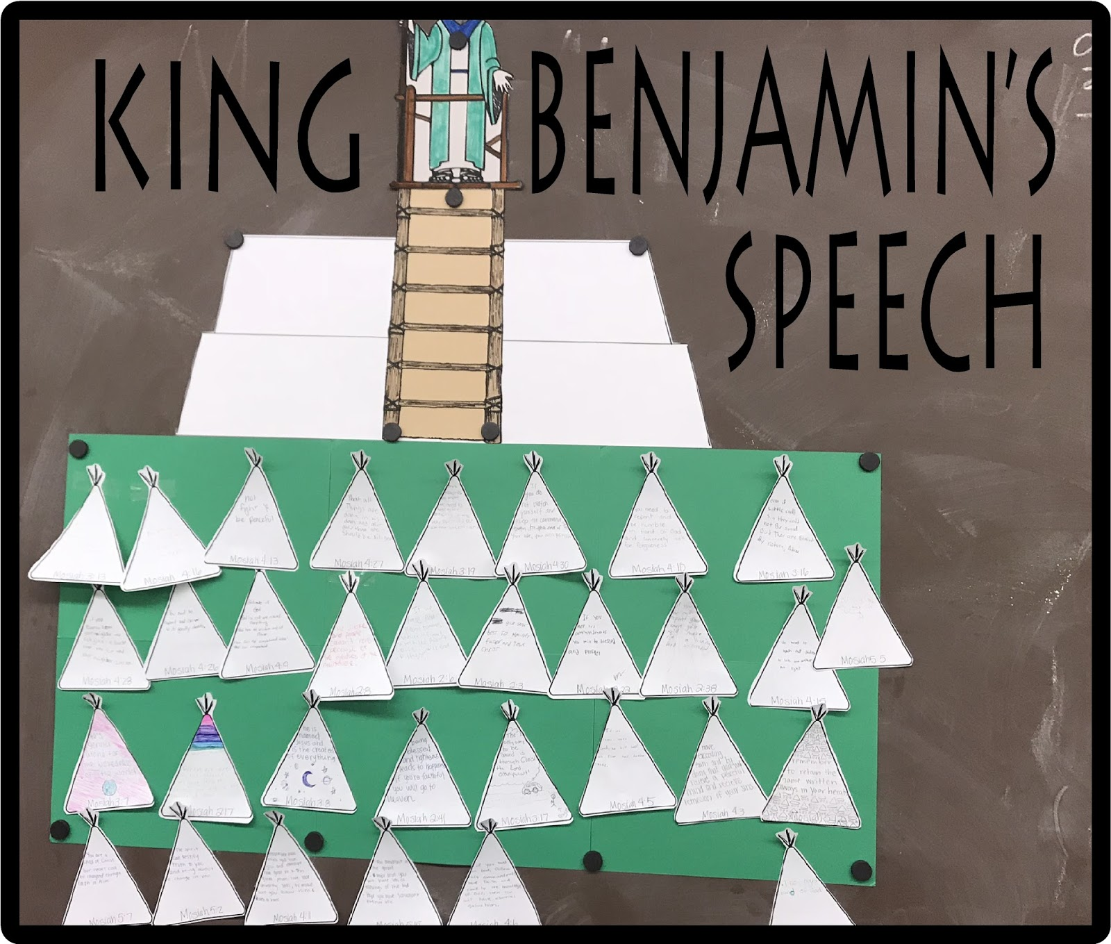 Learning About King Benjamins Speech Book Of Mormon Mosiah Chapters 2 5