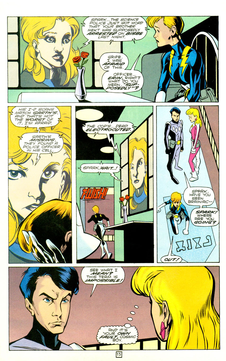 Legion of Super-Heroes (1989) 73 Page 15