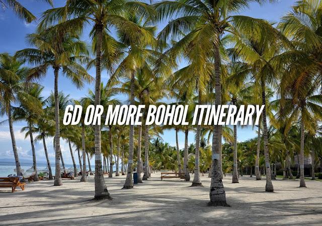 4 DAYS BOHOL ITINERARY TRAVEL GUIDE BLOG