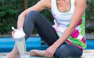 Batido y ejercicio